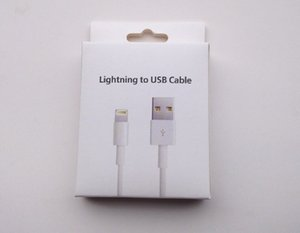 1M 3FT USB Data Sync Cable Charging Cord Charger Line with Retail Box for iphone7 i 7 8 X Plus iphone