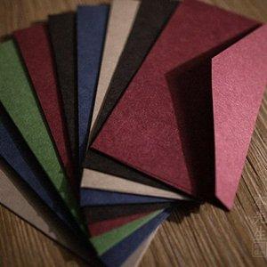 50pcs B3 (220 milímetros X 110 milímetros) Envelopes Acolhedor Thick Paper Gift Card multifunções do envelope do convite do casamento de papel PNGR #