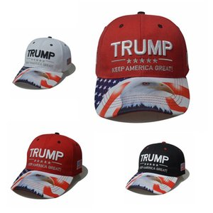 Trump Eagle-Hut Donald Trump Baseball-Mütze Halten Sie Amerika Große Einstellbare Breathaußen Hip Hop-Snapback Caps IIA299