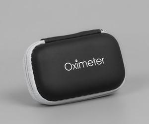 Oxímetro de caixa de armazenamento de Proteção Zipper duro EVA viagem Fingertip Oxímetro de Pulso bolsa de transporte portátil de fone de ouvido Acessórios saco de armazenamento