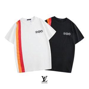 2020 summer fashion leisure 100% cotton T-shirt woman and mensLuxuryDesigner#160;Brand1GLV t shirt 1Gembroidery