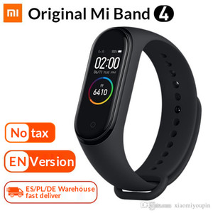 Original Mi Band 4 Smart Armband Xiaomi Fitness Tracker Uhr Herzfrequenz Schlafmonitor 0,95 Zoll OLED-Display Band4 Bluetooth