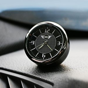 Car Dashboard Clock Air-Outlet Clip Decoration Electronic Watch Time For Mini Cooper S One d F54 F56 F60 R56 R60 Car Accessories