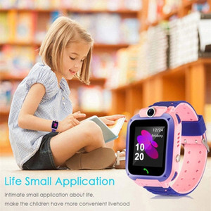 Children's Smart Watch SOS Phone Watchs Smartwatch Kids With Sim Card Photo Waterproof IP67 Kids Wristband Gift For IOS Android