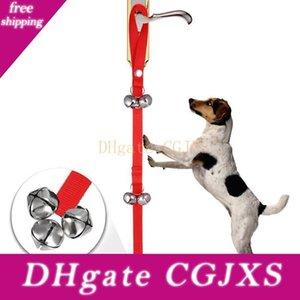 Pet Дверного Rope Dog Toy House Обучение и Связь сигнализации дверной звонок для собак удобны и практичны зоотовары быстрой доставки