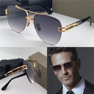 Nuevo diseño de las gafas de sol 138 frameles pilotos estilo medio marco UV manera marco 400 de lentes de gafas de protección al aire libre populares
