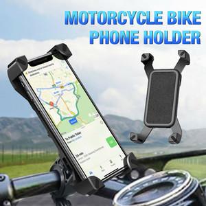 360 grados soporte para teléfono móvil soporte universal para bicicleta Monte Smartphone para el iPhone para Samsung manillar Clip Soporte de teléfono móvil GPS
