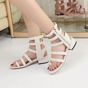 Sandalias Roman Gladiator Sandals delle donne Botas femininas Scarpe Donna estate delle ragazze cava Stivaletti