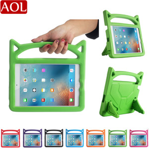 Kids Shockproof Case for new iPad air Pro 9.7 air3 10.5 10.2 2019 mini 1 2 3 4 5 EVA Soft Thick Foam Stand Holder Protective Cover