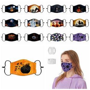 Yortusu Komik Yüz PM2.5 toz geçirmez Vana Maskesi Yıkanabilir Anti Toz Baskı Tasarımcı Maskeler 13styles RRA3318 Maske