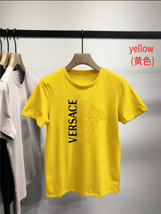 Классическая роскошь мужских куртки летом, модные футболки, письмо напечатана футболки, мужская и женская с короткими рукавами футболка