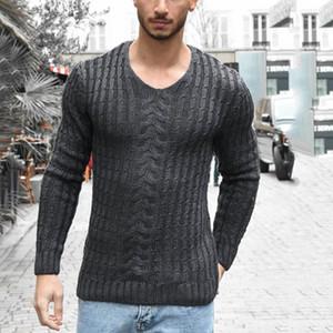 20AW Herren Designer Pullover Casual Solide Farbe O Hals Langarm Plus Size Pullover Männer Lose Strickpullover