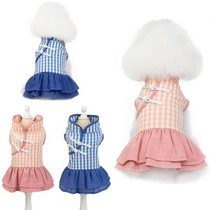 new pet clothes teddy dog clothes dog skirt kitty apparel manufacturers wholesale spring and summer cheongsam skirt