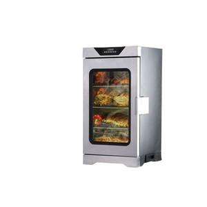 IRISLEE D1701 220v vente à chaud en acier inoxydable machine à viande fumée / saucisses de poulet Viande Smoker Four Maison