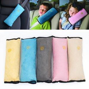 Cinto de segurança Pillow Almofadas Crianças Auto Pillow Car Cinto de Segurança ombro Protect Pad Ajuste Assento de Veículo decorativa Pillow 5 Color WX-S01