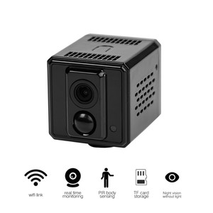 WiFi monitoring camera HiSilicon chip low power consumption small monitoring PIR remote switch machine wireless network camera-
