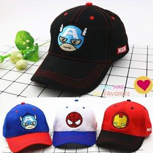 Children's hat Super League USA Embroidered baseball team Superman cartoon cap Iron Man embroidery baseball cap