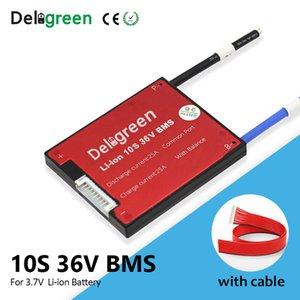 Pièces Battery Charger ccessoires ccessoires Deligreen 10S 36V 15 20 30A 40A 50A 60A PCM / PCB / BMS pour le lithium 3.7V