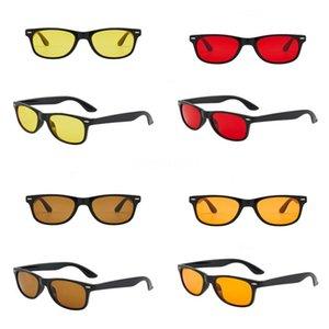 Dener Sunglasses Color Film grande frame Sapo Sunglasses homens e mulheres é metal óculos polarizados Sunglasse # 147