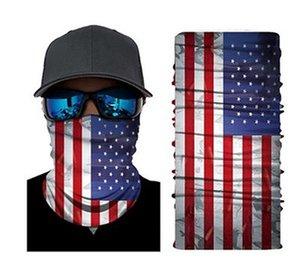 Yeni Trump Magic Eşarp 2020 Amerika Başkanı Seçim Maskeler 3D Dijital Baskı Çoklu Stil Açık Cyling Parti Malzemeleri IIA397