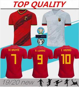 2020 2021 Copa de Europa Bélgica Jersey de fútbol ausente Lukaku PELIGRO KOMPANY De Bruyne MERTENS Europa League camiseta de fútbol deportes