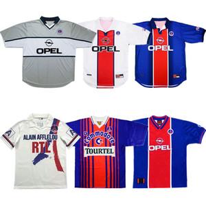 90 92 Retro Paris ANELKA Okocha Weah Fußball Jersey 1993 94 95 96 2000 01 98 99 Wörns Fußballhemd Ronaldino alter maillot