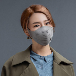 AirPOP Maske Air Wear PM2.5 Anti-Schleier-Maske Luftreiniger Aktiv Luftversorgung Elektrische Gesicht Mundmaske Respirator Stellen