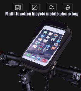 Waterproof Touch Screen Mobile Phone Bag Bicicleta Quadro Bolsa de bicicleta Bag para Celular