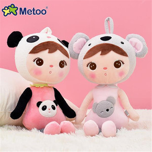New 45cm Metoo Angela Rabbit Dolls Bunny Baby Plush Toy Stuffed & Animal Toys Kids Girls Birthday Christmas Gift 5PCS LOT WL03