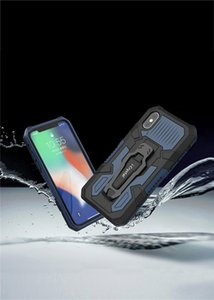 2020 New Phone Case Car Bracket for Iphone Samsung Mobile Phone Drop Case Armored Defense Case Wholesale