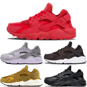 2020 Huarache 4.0 1.0 Classical Triple White Black gray gold red men women huarache shoes Huaraches sports Sneakers Running Shoes size 36-45