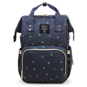 Multi-function large Capacity diaper Bag Maternity large nappy bag Maternida Printed baby Travel Backpack Baby Care wetbag