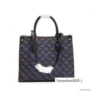 TOP ONTHEGO M44569 women leather designer luxury handbags purses messenger shopping shoulder pockets Totes Cosmetic bag