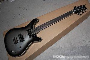 En kaliteli Müzik Enstrüman 21 PERDEDE PRS SE İmza gri Elektro Gitar