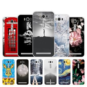 for ASUS ZenFone 2 Laser ZE500KL Case Call Box Design Back Silicon Cover for Funda Asus ZE500KL Phone Capa Soft TPU Cover