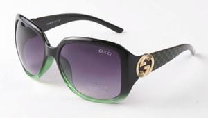 Mode Mensentwerfer Sonnenbrille quadratische Metall Kombination Luxus Platte 3163