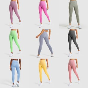 Fashion Women'S Jean-Like Hollow-Out Printed High-Waist Elastic Trousers Pants Women Yoga Pants Leisure Fitness Pantalones #DM#720