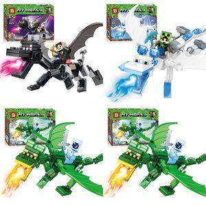 Educational Dragon Ball Z Super Saiyan Son Goku Vegeta Majin Buu Son Gohan Bardock Perfect Cell Bulma Mini Toy Figure Building Block Bric#403