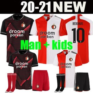 20 21 Feyenoord soccer jersey KOKCU BERGHUIS FER Camiseta de futbol JORGENSEN camiseta de fútbol 2020 2021 home away men kids football shirt