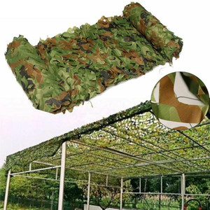 Sun Shelter 3x3 / 3x4m Hunting Camouflage Nets Army Woodland Camo Rede Camping Shelter Tent Sombra Car