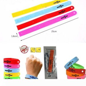 Summer Mosquito Repellent Bracelet Anti-mosquito Wrisband Insect Repellent Ring Colorful Personal Protection Mosquito Bugs Lock Wristband