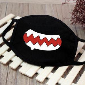 Schwarz Protective Mask Anti Staubbelastung Unisex Gesicht Mund-Maske waschbar wiederverwendbare Baumwolle für Hausarbeit Rauch Radfahren Camping Ski-Wärmer