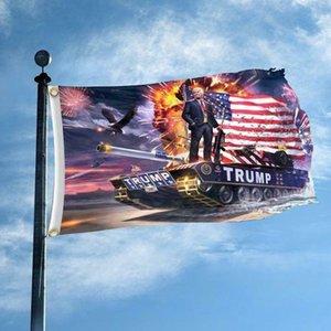 3x5 Feet Donald Trump Flag 2020 -Keep Amerika Große -Auswählen Donald Für USA-Präsident Banner