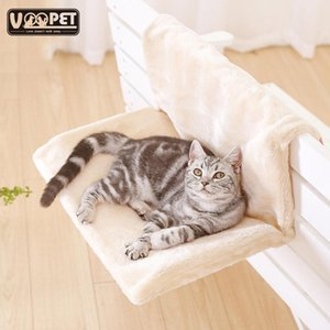 Cat Bed Removable Window Sill Cat Radiator Lounge Hammocks for Cat Kitty Hanging Bed Cosy Carrier Pet Bed Seat Hammock T200101