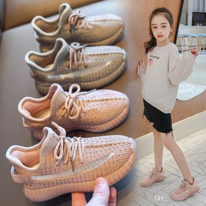AAdct 2020 new kids shoes running sports spring autumn girls shoes Mesh Breathable children shoes for boys soft sole