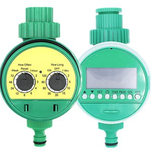 Automatic Garden Watering Timer Electronic LCD Display Home Ball Valve Water Timer Watering Irrigation Controller System