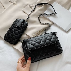 kutu toptan ile Tasarımcı üst 3A klasik cüzdan çanta bayan moda debriyaj çanta yumuşak deri kıvrım haberci çantası fannypack çanta