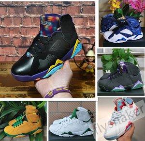 2020 Authentic 7 Oregon Ducks PE UO YELLOW STRIKE GREEN APPLE Purple grape 7S Hare Basketball Shoes Women Mens Trainer Sports Shoes 36-47