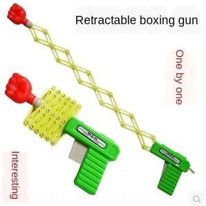 trucco magico elastico telescopico per bambini pugno magico pistola giocattolo nostalgico per bambini giocattolo post-anni '80 infanzia classico