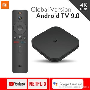Xiaomi Mi Android TV Box S 4 Android 8.1 4K HD QuadCore inteligente Bluetooth 2GB 8GB HDMI WiFi configurar Caixas Media Player